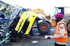 MANY FEARED DEATH AS TANKER, BUS COLLIDE IN ANAMBRA