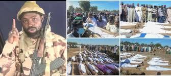 BORNO HARAM LEADER SHEKAU JUSTIFIES RICE FARMERS KILLING ,THREATENS MORE KILLING
