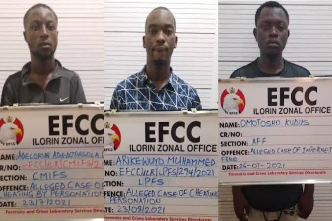 24 YEAR OLD ALUMINUM FABRICATOR, TWO OTHERS JAILED FOR LOVE SCAM